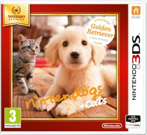 Gra Nintendogs+Cats-Golden Retriever&new Friends - Nintendo Selects (Nintendo 3DS)