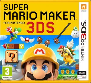Gra Super Mario Maker (Nintendo 3DS)