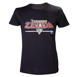T-shirt Legend of Zelda - Retro logo