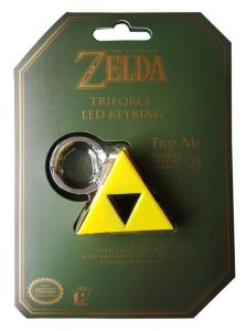 Breloczek do kluczy Nintendo - The Legend of Zelda - Triforce z dźwiękiem