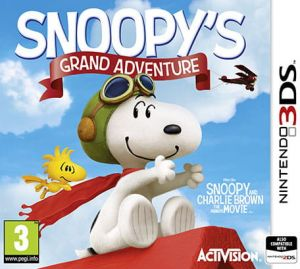 Gra The Peanut Movie: Snoopy's Grand Adventure (Nintendo 3DS)