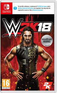Gra WWE 2K18 (Nintendo Switch)