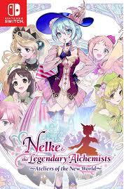 Gra Nelke & the Legendary Alchemists: Ateliers of the New World (Nintendo Switch)