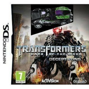 Gra Transformers - Dark of the Moon - Decepticons + samochód (Nintendo DS)