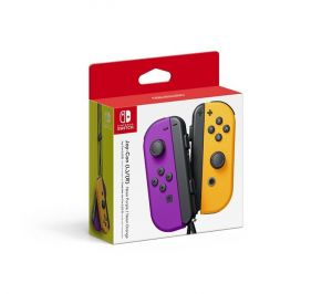 Nintendo Switch Joy-Cons Neon Purple/Neon Orange