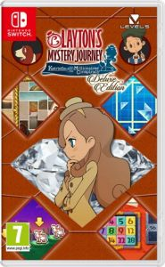 Gra Layton's Mystery Journey Deluxe edition (Switch)