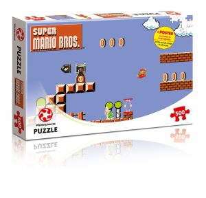 Puzzle - Super Mario Bros. - High Jumper