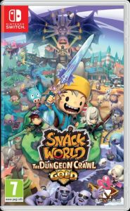Gra Snack World: The Dungeon Crawl - Gold (Nintendo Switch)