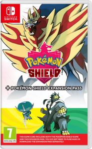 Gra Pokémon Shield + Expansion Pass (Nintendo Switch)