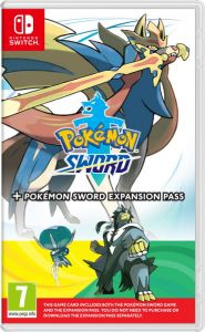 Gra Pokémon Sword + Expansion Pass (Nintendo Switch)