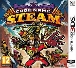 Gry Code Name S.T.E.A.M. (3DS)