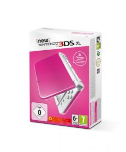 New Nintendo 3DS XL (Pink + White)