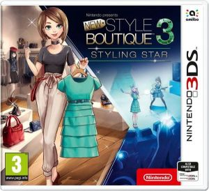 Gra New Style Boutique 3 - Styling Star (Nintendo 3DS)