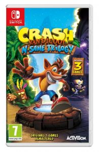 Gra Crash Bandicoot N sane trilogy (Nintendo Switch)