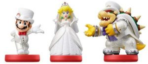Amiibo Super Mario - Wedding Trio