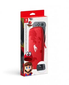 Nintendo Switch Carrying Case & Screen Protector (Super Mario Odyssey)
