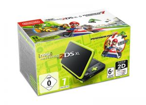 New Nintendo 2DS XL + Mario Kart 7 (Preinstalled)