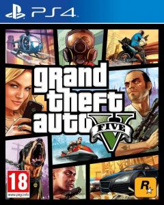 Gra Grand Theft Auto V - GTA V (PS4)