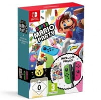 Gra Super Mario Party + Joy-Con Pair Green/Pink  (Nintendo Switch)
