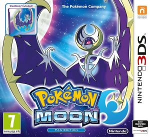 Gra Pokémon Moon Steelbook Edition (Nintendo 3DS)