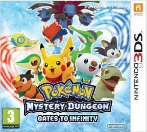 Gra Pokemon Mystery Dungeon: Gates to Infinity (3DS)