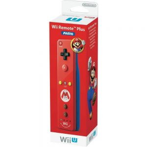 Wii U Remote Plus Mario Edition