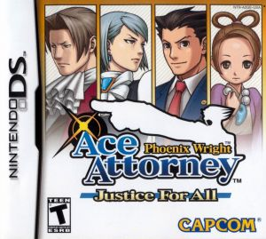 Gra Phoenix Wright Ace Attorney Justice For All (NDS)