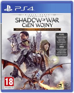 Gra Middle-earth: Shadow of War Definitive Edition (PS4)