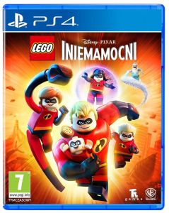 Gra LEGO Incredibles (Iniemamocni) (PS4)