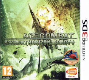 Gra Ace Combat: Assault Horizon Legacy Plus (Nintendo 3DS)