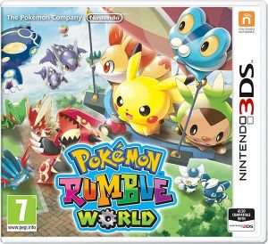 Gra Pokémon Rumble World (Nintendo 3DS)