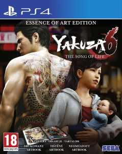 Gra Yakuza 6: The Song of Life - Essence of Art Edition (PS4)