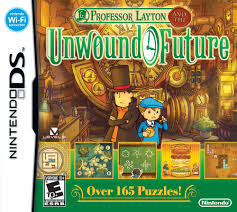 Gra Professor Layton and the Unwound Future (NDS)