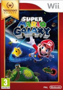 Gra Super Mario Galaxy Selects (Nintendo Wii)