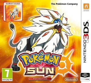 Gra Pokémon Sun Steelbook Edition (Nintendo 3DS)