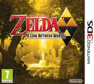 Gra The Legend of Zelda: A Link Between Worlds (3DS)
