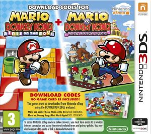 Gra Mario and Donkey Kong: Minis Collection (3DS)