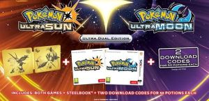 Gra Pokémon Ultra Sun-Moon Dual Pack (Nintendo 3DS)