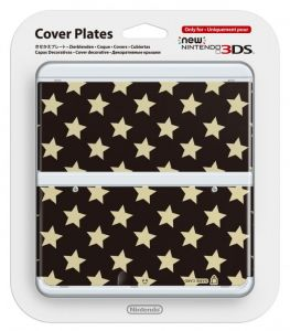 New 3DS Cover Plate 16 (Gold Stars)