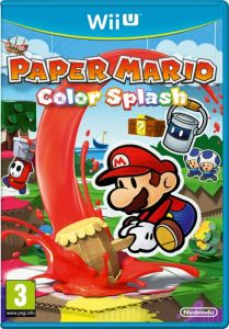 Gra Paper Mario Color Splash (Nintendo WiiU)