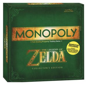 Gra Monopoly - The Legend of Zelda - Wersja ENG