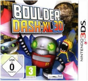Gra Boulderdash-XL 3D (Nintendo 3DS)