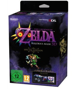 Gra The Legend of Zelda: Majora's Mask 3D Edycja kolekcjonerska (3DS)