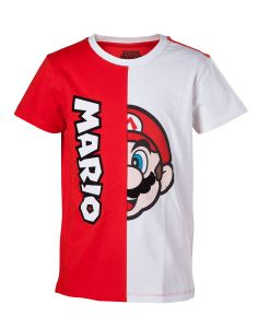 T-shirt Super Mario - Mario cut & sew