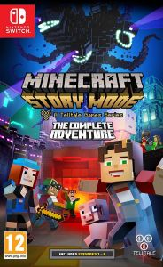 Gra Minecraft: Story Mode a Telltale Games Series - The Complete Adventure(Nintendo Switch)
