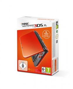 New Nintendo 3DS XL (Orange + Black)
