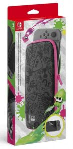 Nintendo Switch Carrying Case & Screen Protector (Splatoon 2)