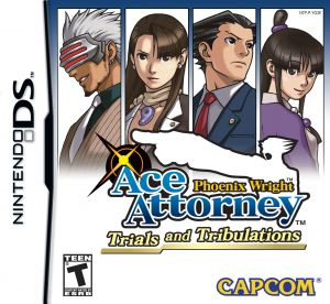 Gra Phoenix Wright Ace Attorney Trials and Tribulations (NDS)
