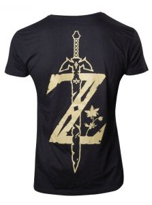 T-shirt Legend of Zelda - Breath of the Wild Logo