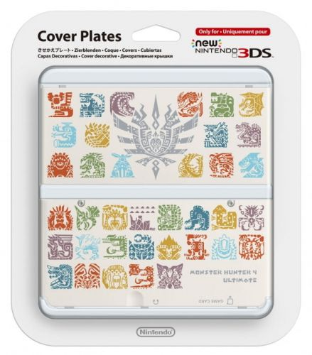 New-3DS-Cover-Plate-Monster-Hunter-4-(White).jpg